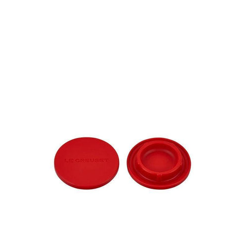 Le Creuset Silicone Mill Cap Set OF 2 Cerise