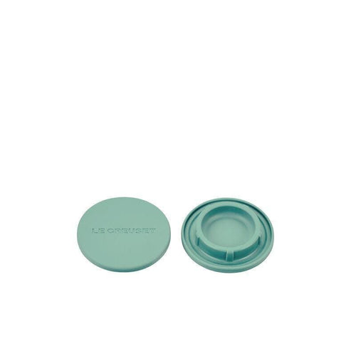 Le Creuset Silicone Mill Cap Set Of 2 Sage