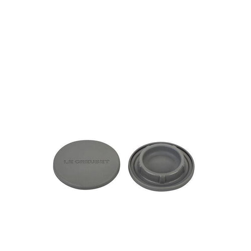 Le Creuset Silicone Mill Cap Set Of 2 Oyster