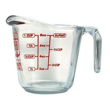 Anchor Hocking 1 Cup Glass Measuring Cup
