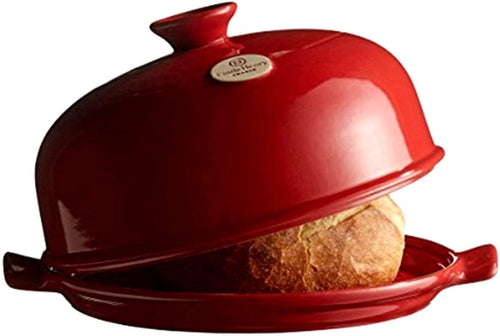 Emile Henry Cloche Bread Baker Grand Cru