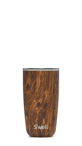 S'Well Tumbler with Lid Teakwood 18oz