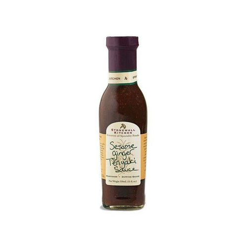 Stonewall Kitchen Sesame Ginger Teriyaki Grille Sauce 330ml
