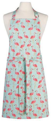 Now Designs Chef Apron Flamingos