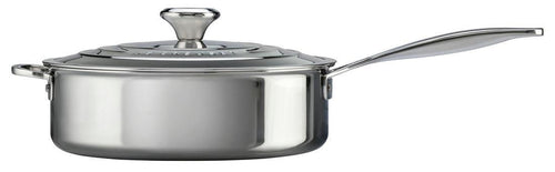 Le Creuset 4.3L Stainless Steel Saute Pan
