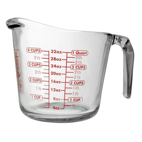 Anchor Hocking 4 Cup Glass Measuring Cup