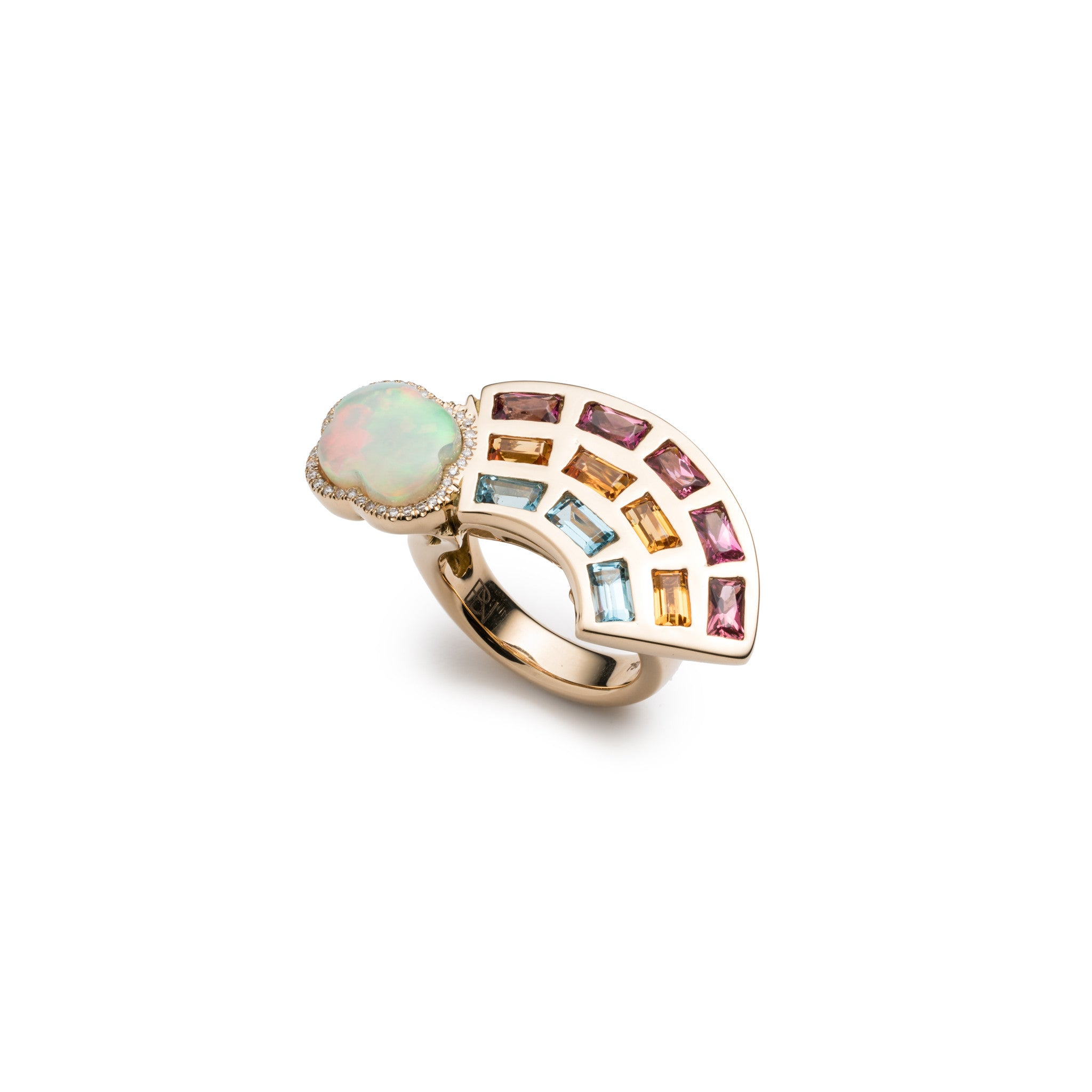 Rainbow Ring - Medium