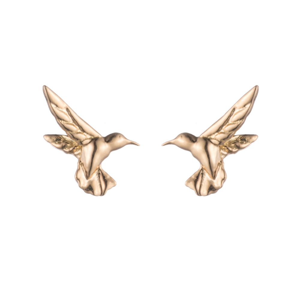 Mini Hummingbird Stud Earrings