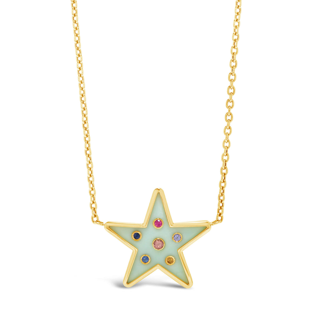 Star Inlay Pendant