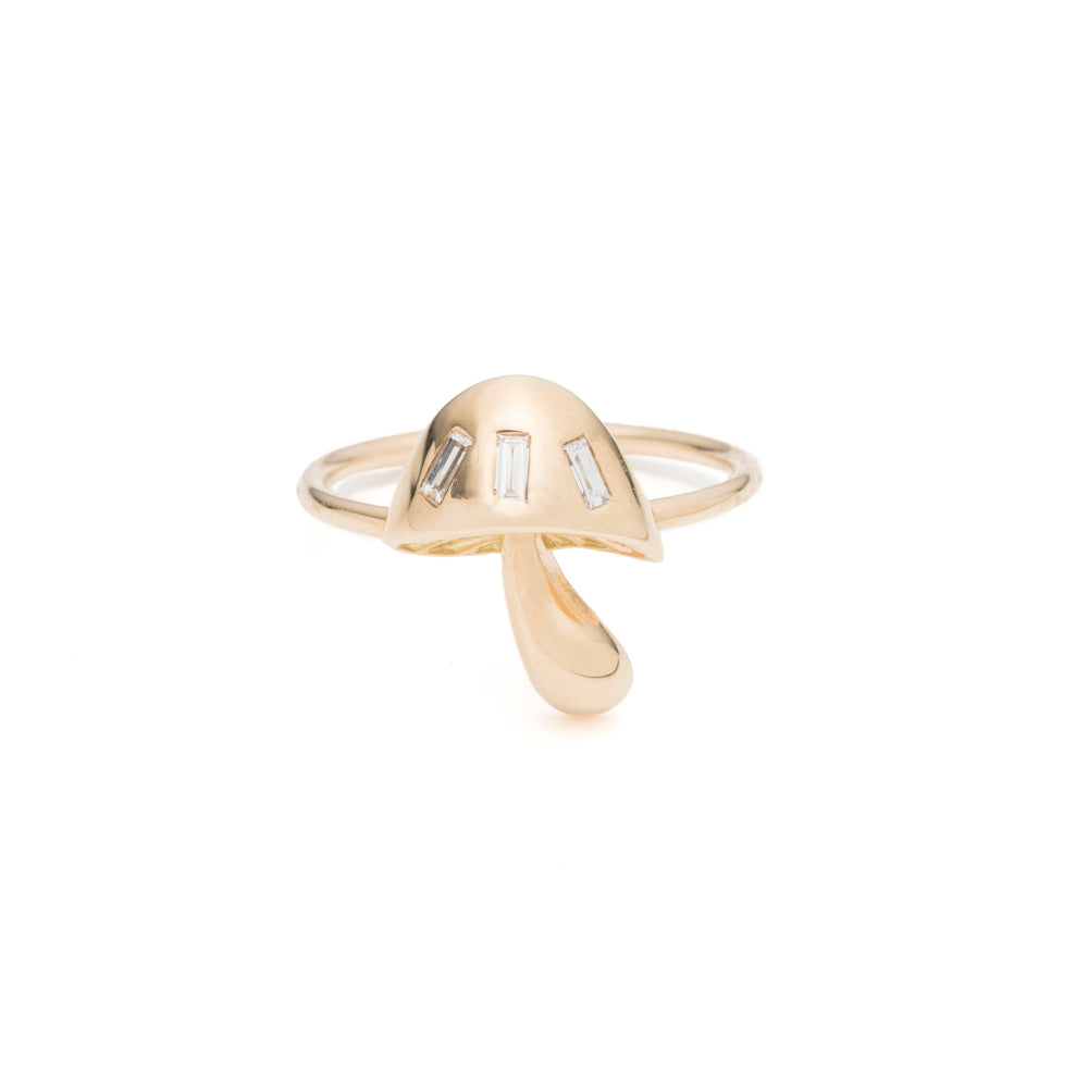 Magic Mushroom Band Ring