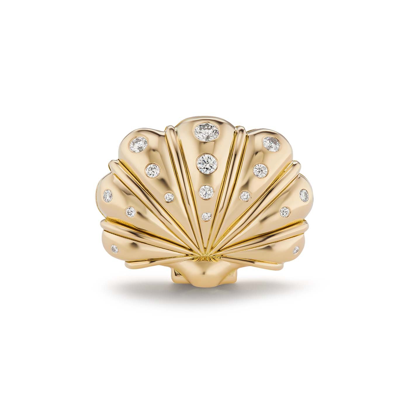 Large Clam Shell Ring