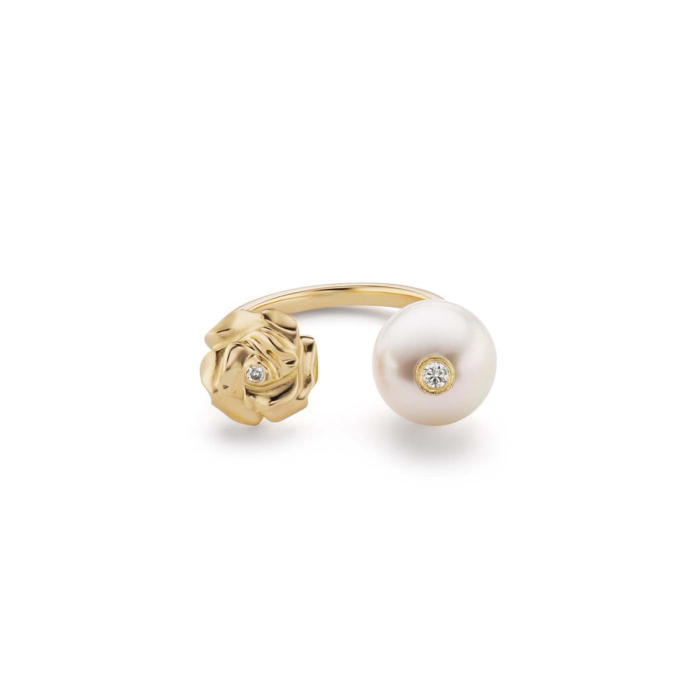 Pearl and Rose Ring