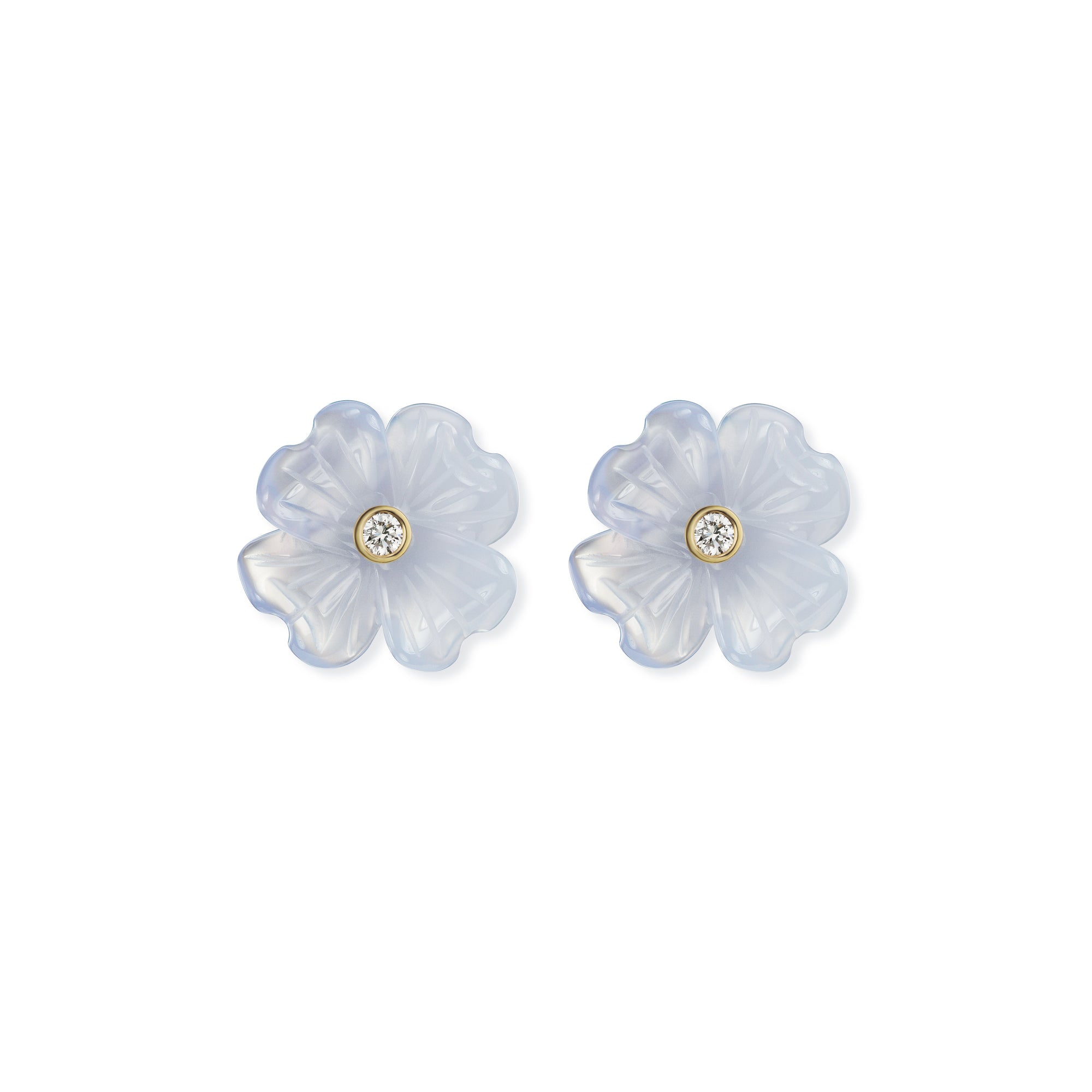 Small Clover Stud Earrings