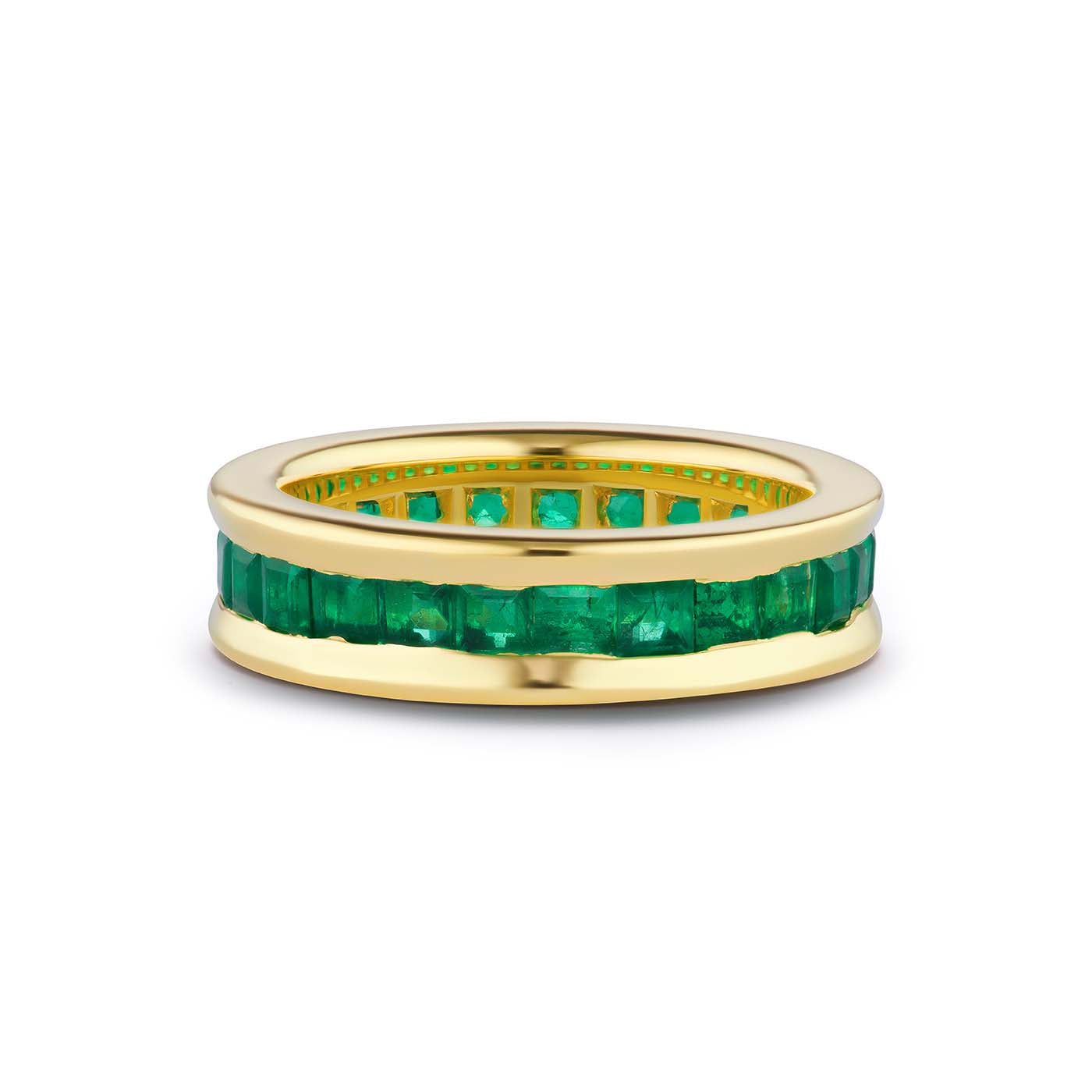One-of-a-Kind Emerald Gypsy Band