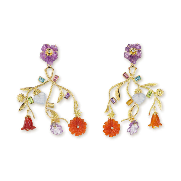 Bouquet Chandelier Earrings