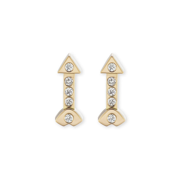 Artemis Studs with Diamonds