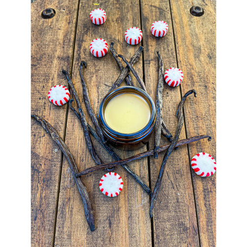 Peppermint, Vanilla, Tea Tree Foot & Callus Salve