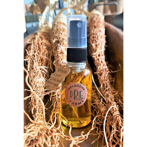 Vetiver Root Infused Moringa Oil