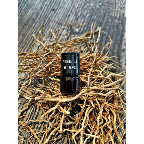 Pure Haitian Vetiver Oil Anxiety Roller