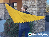 6 Layer Delight Shawl: Knitting Pattern - wingspan view