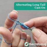 Ready, Set, Go Socks - alternating long tail cast on