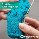 Riptide Socks - Knitting Pattern PDF