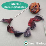 Bon Voyage Shawl and Travel Blanket Entrelac Knitting Pattern: Base Rectangles Video Tutorial