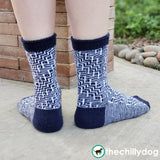 Grand Staircase Socks - Knitting Pattern PDF