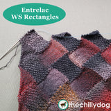 Bon Voyage Shawl and Travel Blanket Entrelac Knitting Pattern: WS Rectangles Video Tutorial