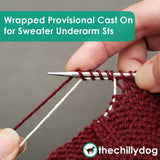 Cereus Sweater: Learn While You Knit - Wrapped Provisional Cast On for Sweater Underarm Stitches