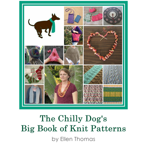 30 knit patterns e-book by The Chilly Dog