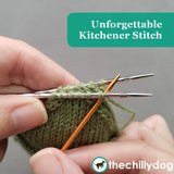 Ready, Set, Go Socks - Unforgettable Kitchener Stitch