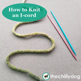 Little Birds Phone Pocket Knitting Pattern:  Knit I-Cord video tutorial