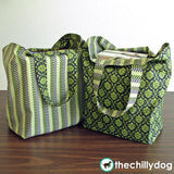 Large Reversible Reusable Shopping Bag/Tote Sewing Pattern