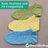 Ready, Set, Go Socks - Sock Anatomy and Fit Comparison