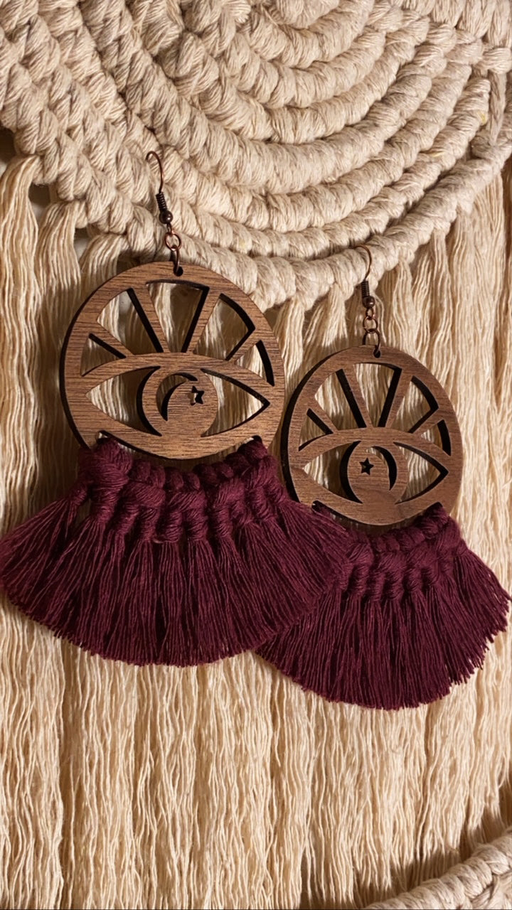 Bright Eyes Earrings - Knotted x Artefacts Collab
