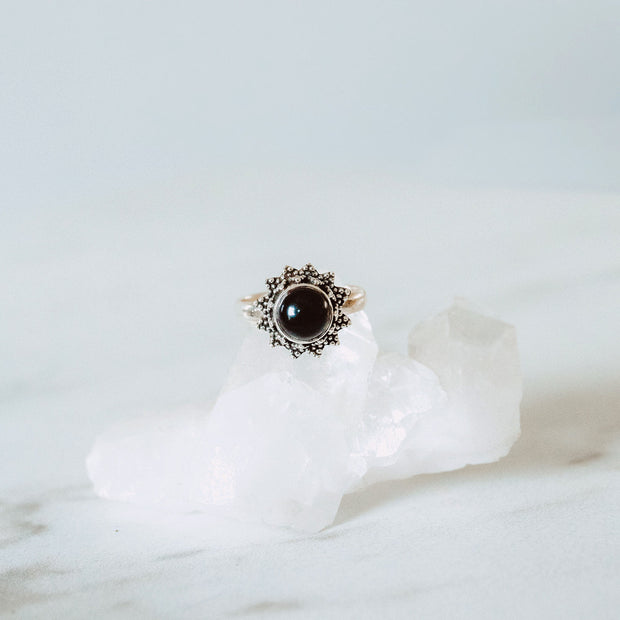 Divinity Onyx Ring