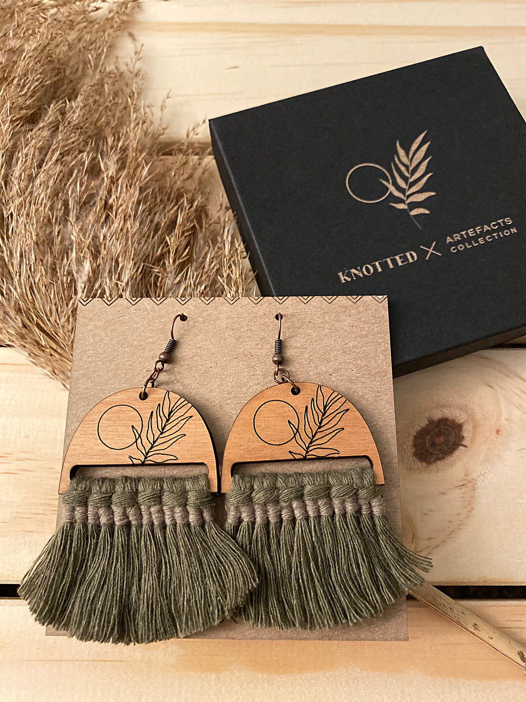 Fauna Earrings - Knotted x Artefacts Collab