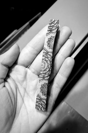 Etched Palo Santo Stick » Third Eye Rose