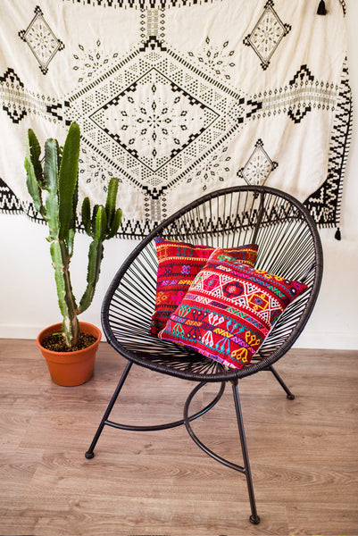 Prickly Pear Vintage Kilim Pillow