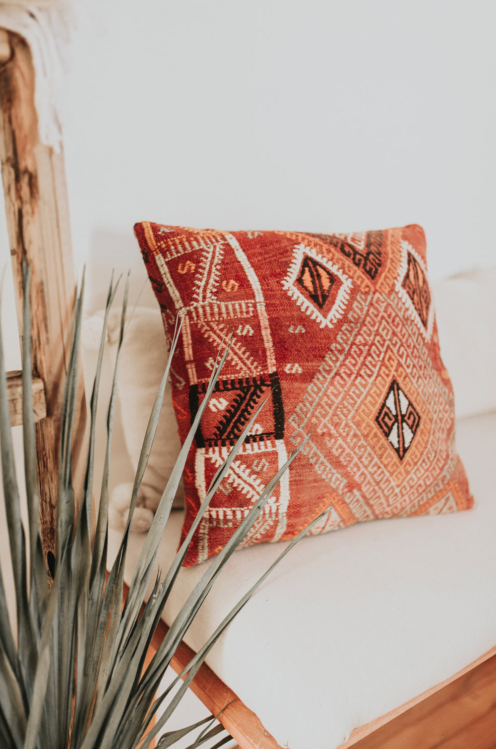 Labyrinth Kilim Pillow