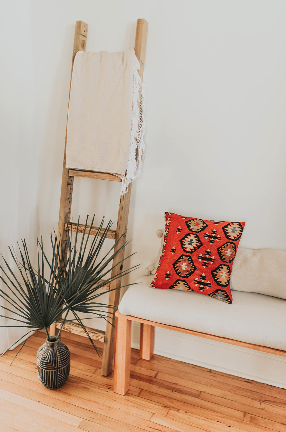 Desert Fire Kilim Pillow