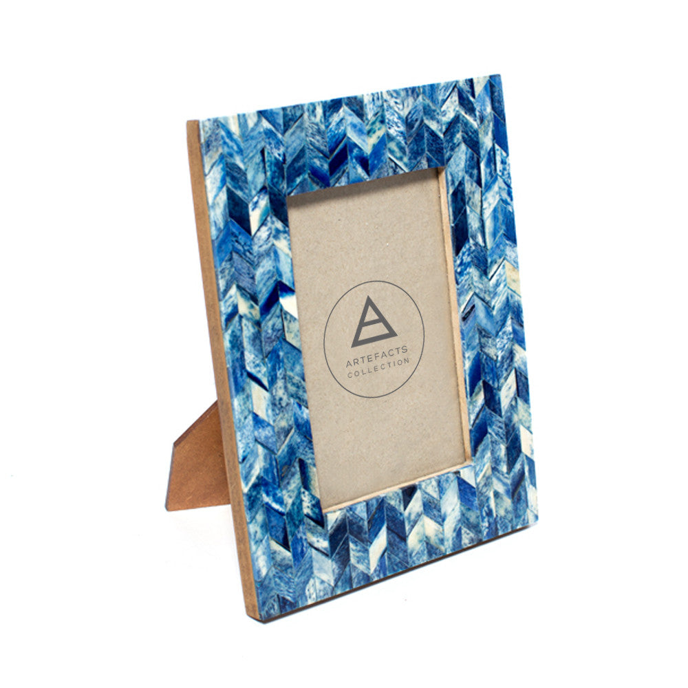 4x6 Photo Frame: Indigo
