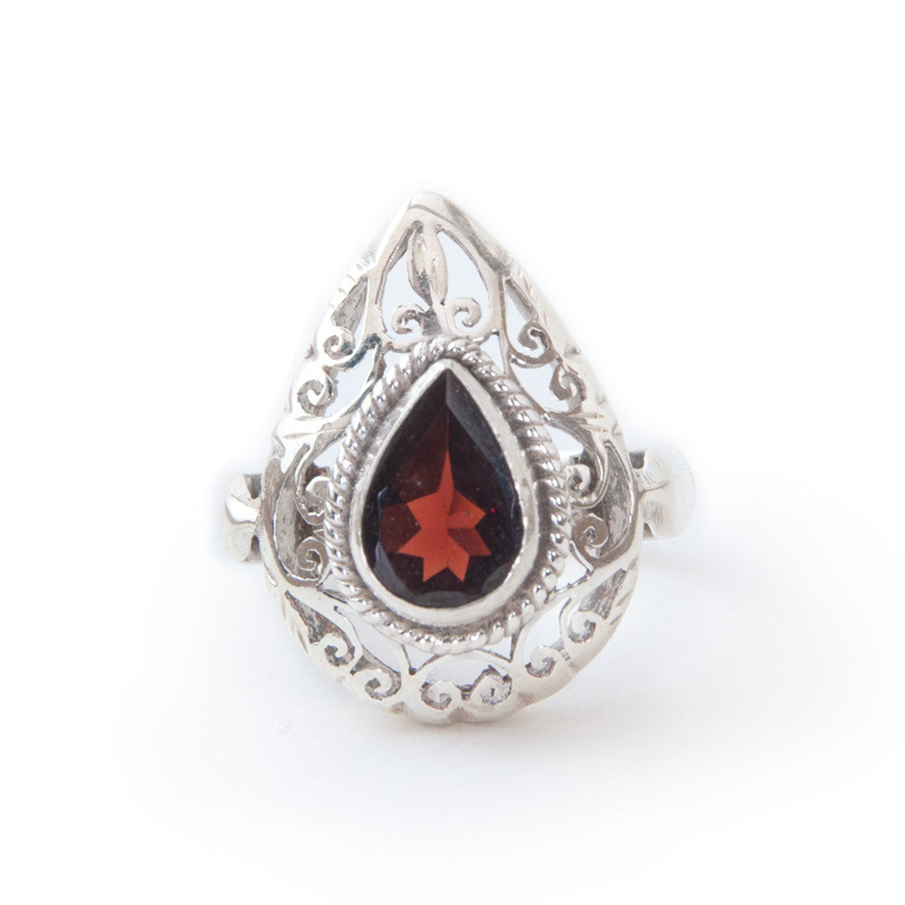 Enchantment Ring - Garnet