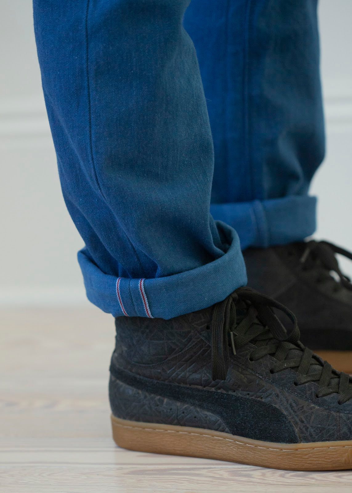 Jones: Selvage  Indigo