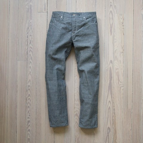 angle: 1x1 | Raleigh Denim Workshop Gates 1x1 Jeans flat