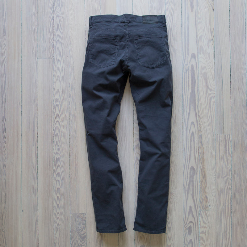 angle hover: marlin twill  A Raleigh Denim Workshop Jones pants in marlin twill