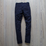 angle hover : cubist rinse  A Raleigh Denim Workshop Martin pants in Cubist Rinse