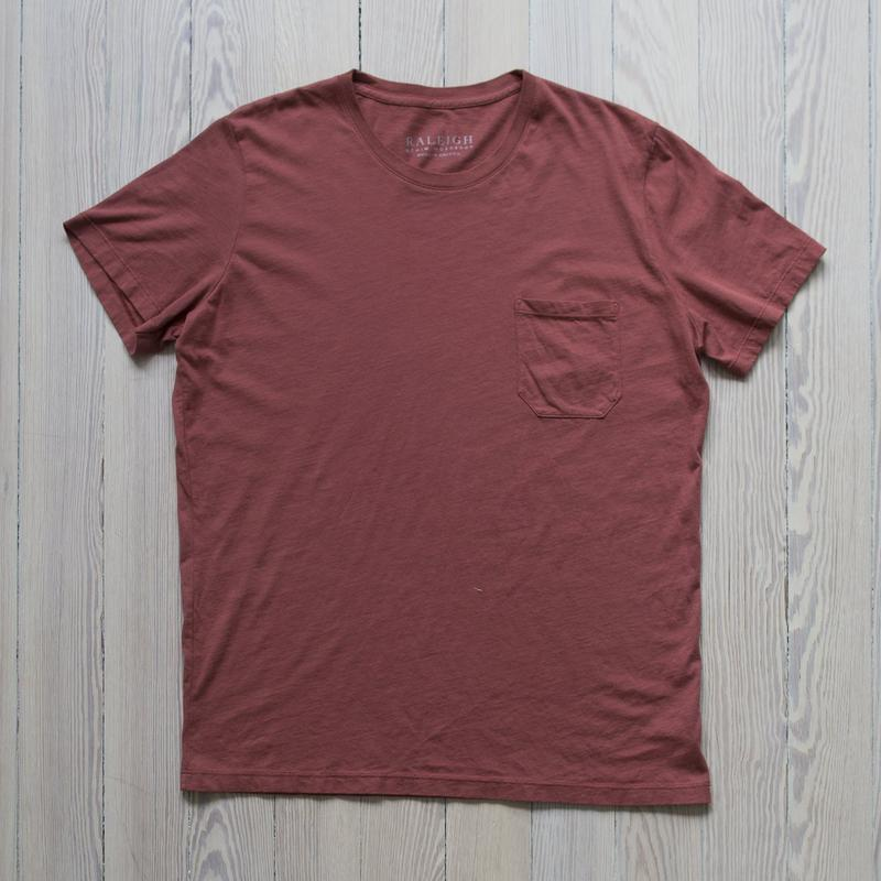 Pocket Tee  Mesa Red