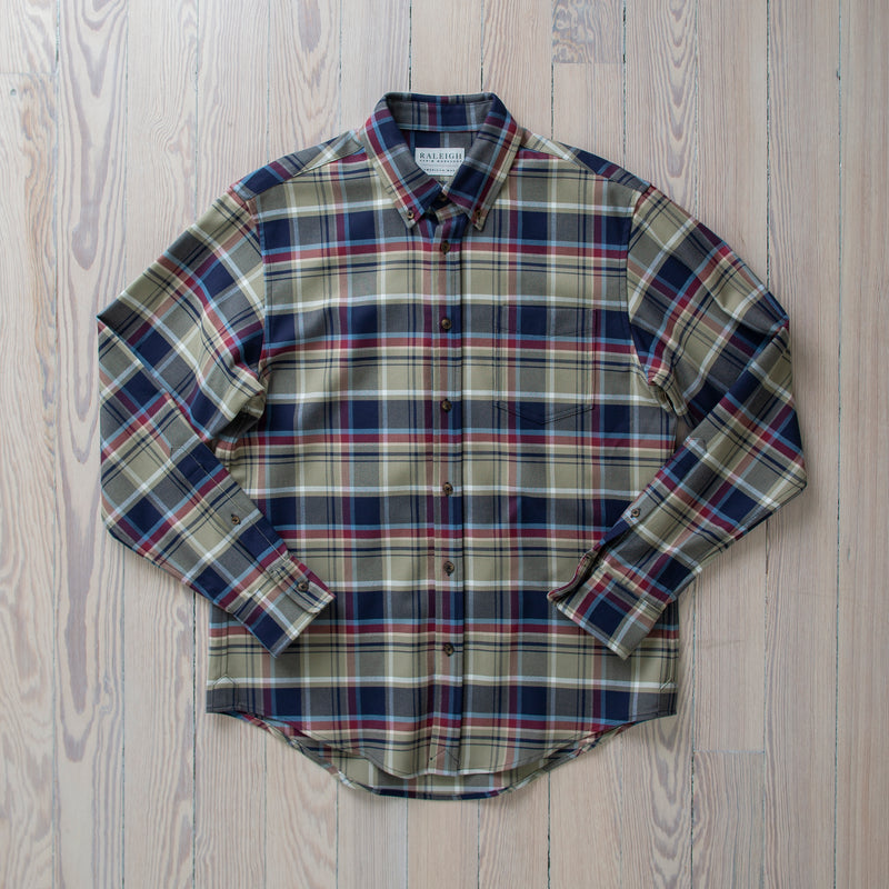 angle: donnish plaid